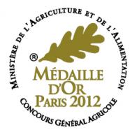 Médaille d'Or 2012